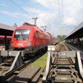 Bregenzerin (77) von ÖBB-Zug tödlich verletzt