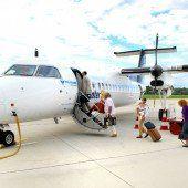 InterSky gehört zu den pünktlichsten Airlines