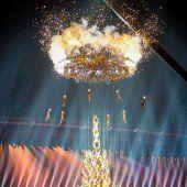 Selfies, Show und ein gigantisches Feuerwerk