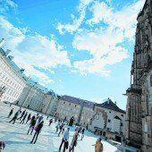 Die Prager Burg auf dem Hradschin