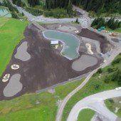 Golfplatz Lech erhält Konturen