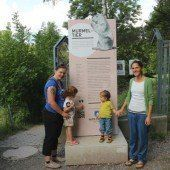 Neue Schilder informieren nun im Wildpark