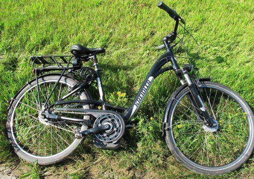 Die deutsche Polizei sucht nach der Identität des verstorbenen Lenkers dieses Fahrrades.  Foto: Polizei
