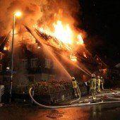 57-jährige Frau rettete sich mit Sprung aus der Flammenhölle