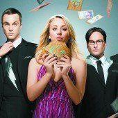 Big Bang Theory-Stars erhalten Millionen-Gage