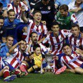 Mandzukic-Tor bringt Atletico Supercupsieg