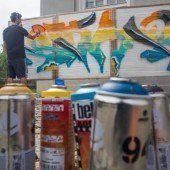 Urbane Streetart hautnah erleben