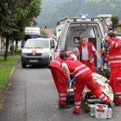 Verletzte bei Auto-Kollision