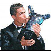 Cristiano Ronaldo ist auch der Fußball-König von Europa