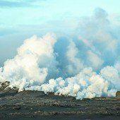 Vulkan ist ausgebrochen