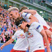 2:1-Sieg – Salzburg dominierte über Malmö, muss aber noch zittern