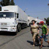 Konvoi erreicht Lugansk