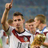 Klose beendet Karriere im Nationalteam