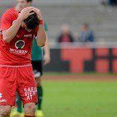 FC Dornbirn fängt die zweite Heimpleite ein