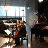 Klavier, Violine, Cello und ein Muscle-Car: Das Altenberg Trio und Richard-Prince-Kunst sind kein Gegensatz