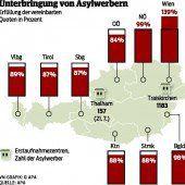 Länder fordern Beschleunigung der Verfahren für Asylwerber in Österreich