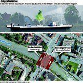 Baustart für Dornbirner Sägerbrücke wackelt