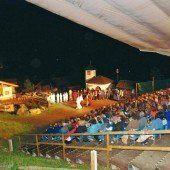 Die Montafoner Sagenspiele locken auch heuer wieder Tausende ins Silbertal
