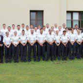 28 neue Polizisten hat das Land