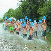 Markus Schairer nominierte die Ländle-Asse zur Ice Bucket Challenge