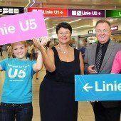 U5 wird rosa oder türkis