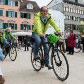Grüne: Radtour-Ende mit Wahlkampfauftakt