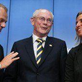 EU-Topjobs für Donald Tusk und Federica Mogherini