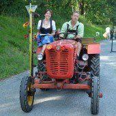 Alljährliches Oldie-Traktoren-Treffen in Weiler
