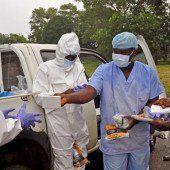 Ebola-Patienten aus Krankenhaus geflohen