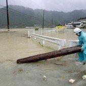 Hunderttausende auf der Flucht vor Taifun