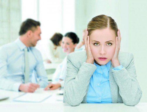 Je mehr Konzentration verlangt ist, desto störender wirken sich schon relativ leise Geräusche aus.
