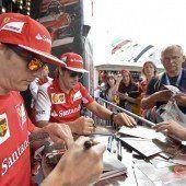 Ferrari-Duo bleibt auch 2015