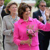 Königin Silvia zu Besuch auf der Insel Mainau