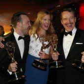 Breaking Bad sahnt die meisten Emmys ab
