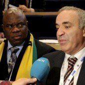 Kasparow verlor die Wahl zum Verbandsboss