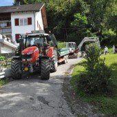 Sanierungs- und Umbauarbeiten in Röthis