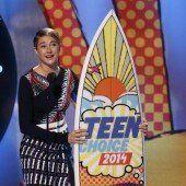 Shailene Woodley sahnt bei Teenie-Preisen ab