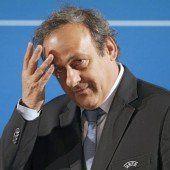 Platini verzichtet auf Kandidatur
