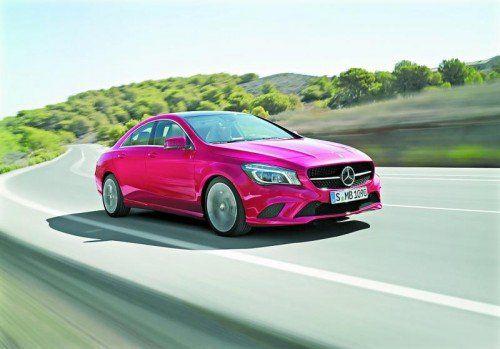 Neue Motoren und neue Allrad-Modelle: Mercedes baut die Kompakt-Familie weiter aus. Foto: werk