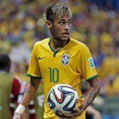 Neymar zurück auf dem Rasen