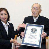 Der älteste Mann der Welt ist 111 Jahre alt