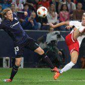 Spätes Gegentor trübt 2:1-Sieg von Salzburg über Malmö FF