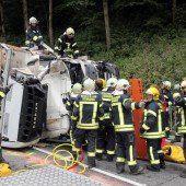 Lkw-Fahrer bei Kollision getötet