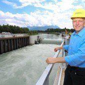 Das Kraftwerk Illspitz startet erfolgreich in den Probebetrieb