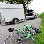 Radfahrer (65) schwer verletzt