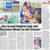 6,5 Millionen Syrer müssen versorgt werden