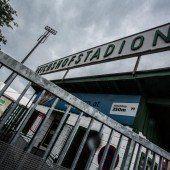 Reichshofstadion bis Ende Herbst genehmigt
