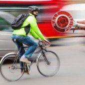 Wenn bei Radfahrern der Führerschein locker sitzt