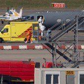 Ebola-Patient wird in Hamburg behandelt