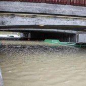 Überschwemmungen in Skandinavien